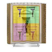 click ____EVE Shower Curtain