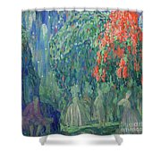 Evening Festival Shower Curtain