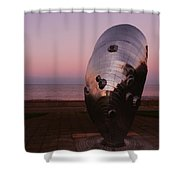 Evening - Time To Reflect Shower Curtain