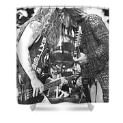 Extreme Nuno Bettencourt And Bassist Pat Badger Shower Curtain