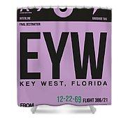 Eyw Key West Luggage Tag I Shower Curtain