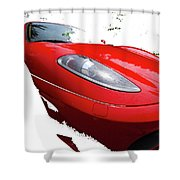 F Four Thirty Convertible Shower Curtain