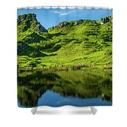 Fairy Glen, Isle Of Skye Shower Curtain