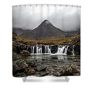 Pools Of Skye Shower Curtain