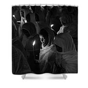 Faith In Numbers Shower Curtain