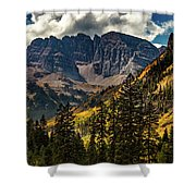 Fall At Maroon Bells Shower Curtain