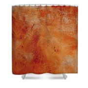 Fall Golden Hour- Abstract Art By Linda Woods Shower Curtain