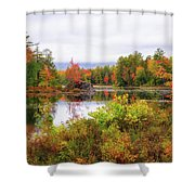Fall In Nh Shower Curtain