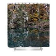 Fall In The Ozarks Shower Curtain