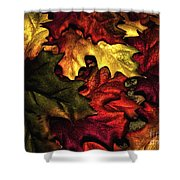 Fall Is On The Ground Shower Curtain