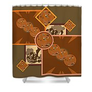 Falling Into Fall G106 Shower Curtain