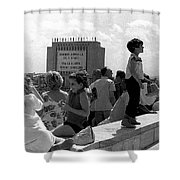 Family Discussion  Shower Curtain