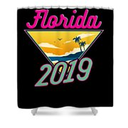 Family Vacation 2019 Florida Shower Curtain