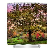Farm In The Blue Ridge Smoky Mountains Shower Curtain