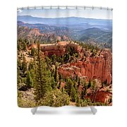 Farview Point - Bryce Canyon - Utah Shower Curtain