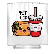 Fast Food Funny Kawaii Pun