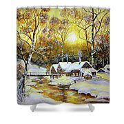 Feerie Winter Shower Curtain