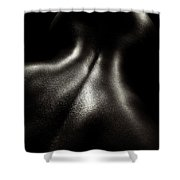 Female Nude Oil 4 Shower Curtain