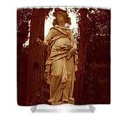 Goddess Statue Shower Curtain