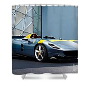 Ferrari Monza Sp1 Shower Curtain