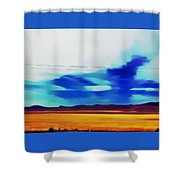 Fields Of Colorado Shower Curtain