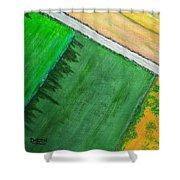 Fields Of Green Shower Curtain