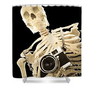 Film Is Dead Shower Curtain