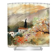 Finca On The Costa Blanca 05 Shower Curtain