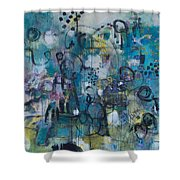 Finding Magnificence Shower Curtain
