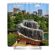Finlay Park Columbia South Carolina Shower Curtain