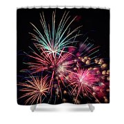 Fireworks 2019 One Shower Curtain
