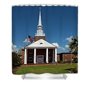 First Baptist Church North Myrtle Beach S C Shower Curtain