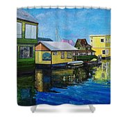 Fisherman's Wharf In Victoria Shower Curtain