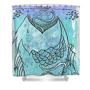 Fishing For Adventure Shower Curtain