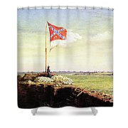 Flag Of Fort Sumter Shower Curtain