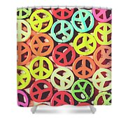 Flares Of Freedom Shower Curtain