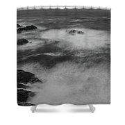 Flat Water Surface Shower Curtain