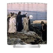 Flevit Super Illam, 1892 Shower Curtain