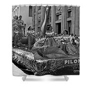 Float Maidens Shower Curtain