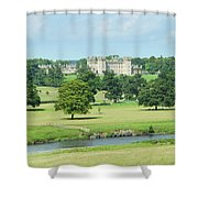 Floors Castle And River Tweed Shower Curtain
