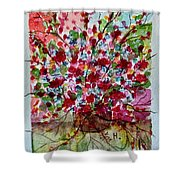 Floral Life Shower Curtain