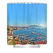 Florence Holiday Deals - Citrus Holidays Shower Curtain