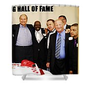 Florida Boxing Hall Of Fame Inaugural Event 2009 Shower Curtain