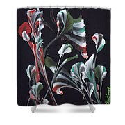 Flower Dance Shower Curtain