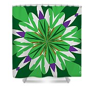 Flowers Number 25 Shower Curtain