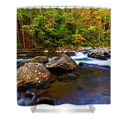 Flowing Waters Shower Curtain