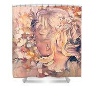 Flutter Your Wings 02 Shower Curtain