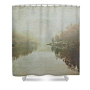 Foggy Potomac Waterscape Shower Curtain