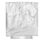 For You Only Shower Curtain