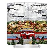 Forbidden City 2 201909 Shower Curtain
